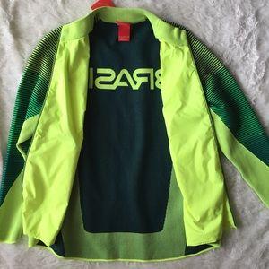 Nike Jackets & Coats - Nike   NWT $300 Brazil Olympics Jacket